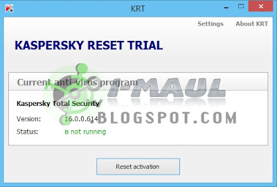 Download Kaspersky Trial Reset 5.0.0.112 Terbaru Full Gratis