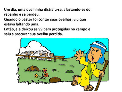 A ovelha perdida3 -amiguinhos de Jesus