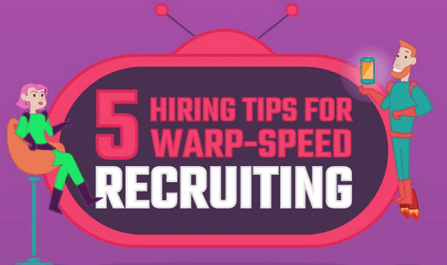 Image: 5 Hiring Tips for Warp-Speed Recruiting