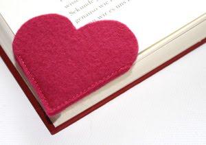 """freebie  Lesezeichen """"Heart"""""""