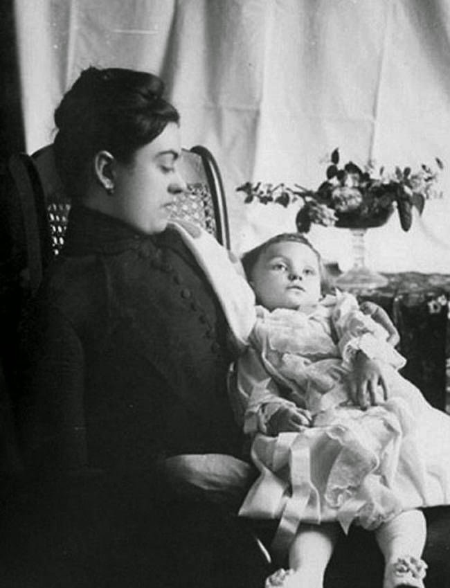 Mother With Deceased Child Victorian Era