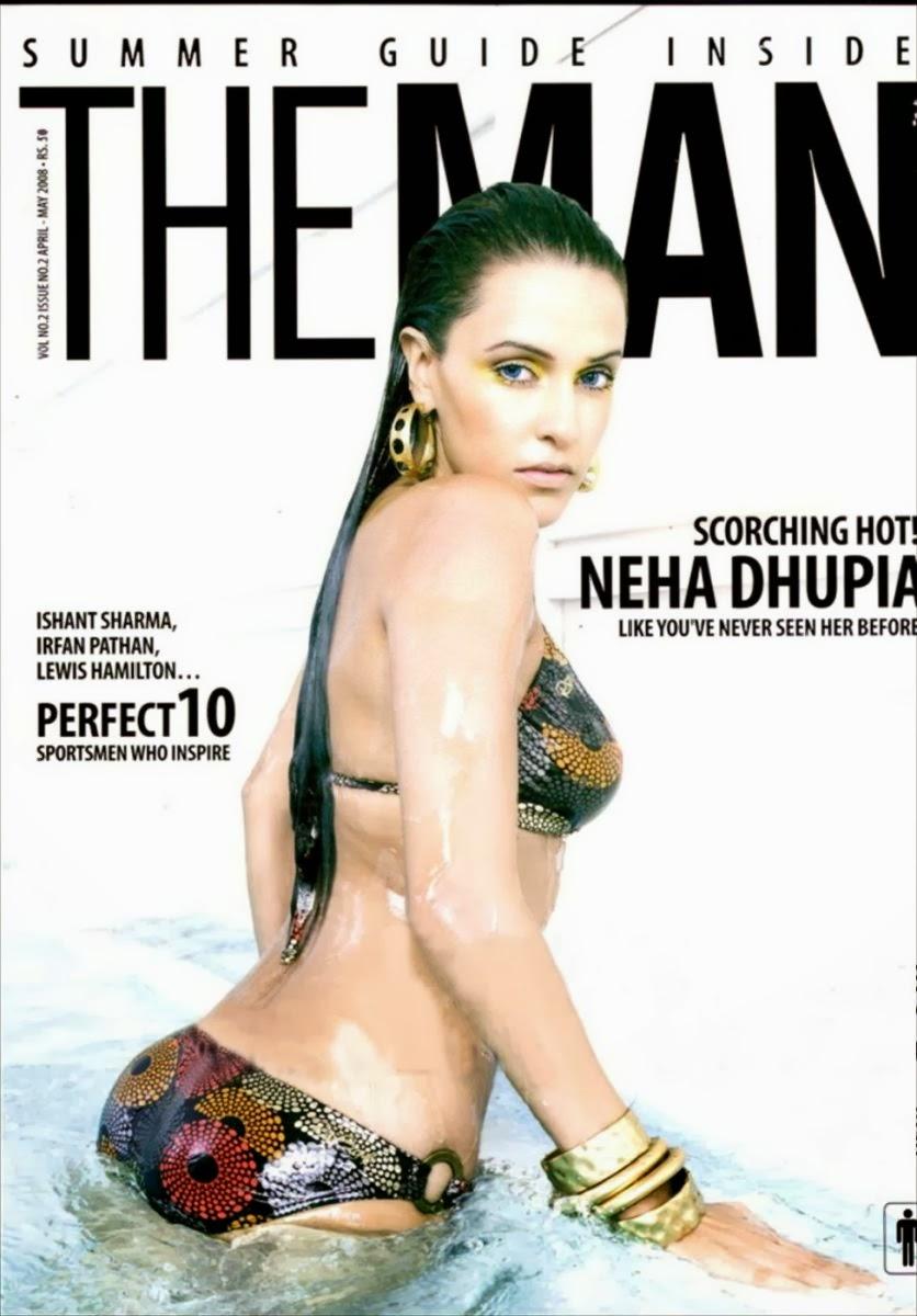 Neha Dhupia in Bikini 1