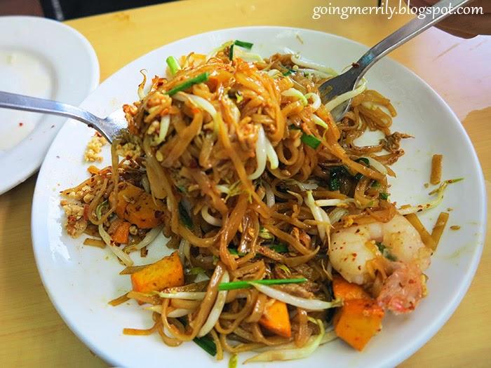 Phad Thai Menu
