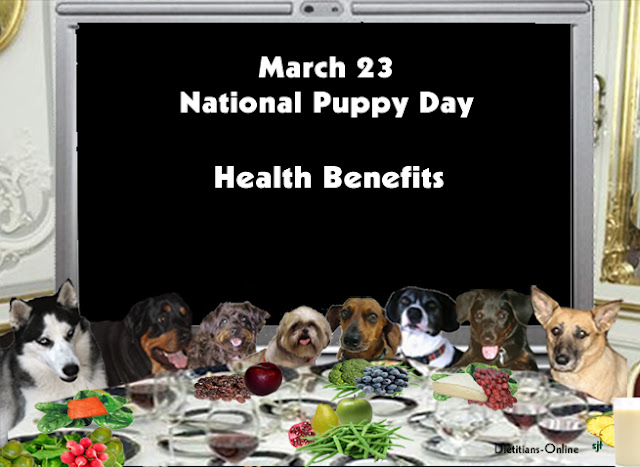 March 23, National Puppy Day Health Benefits