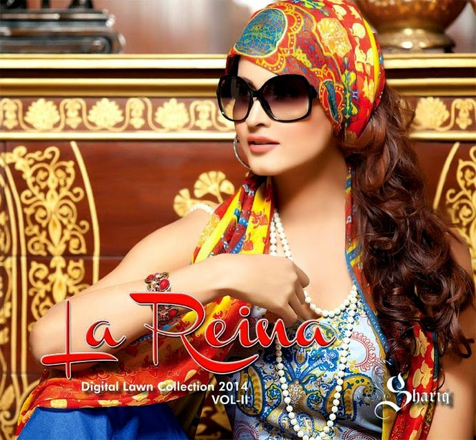 La Reina Digital Lawn Prints 2014 Vol-2