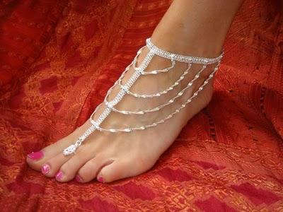 Latest Fashion Trend: Women Ankle Bracelets Fashion