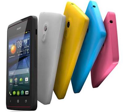 Spesifikasi dan Harga Acer Liquid Z200 Terbaru, Smartphone Android 600 Ribuan