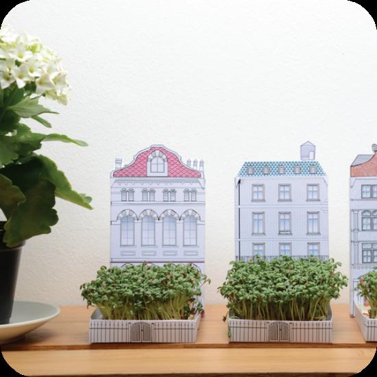 Casita con jardin