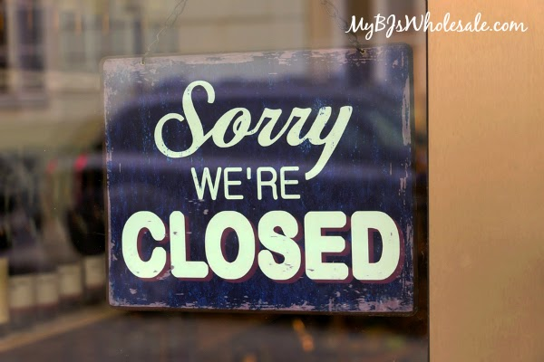 BJ's Wholesale Club Will Be Closed on Thanksgiving - Opening 7am on Black Friday