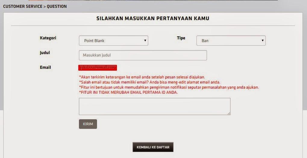 Cara Mengganti Hint Answer ID Point Blank Lewat Fitur Tanya Jawab Gemscool