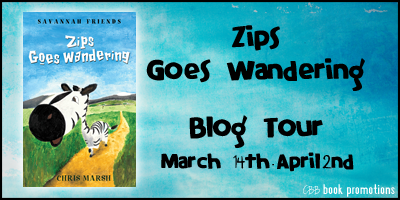 Zips Goes Wandering Blog Tour