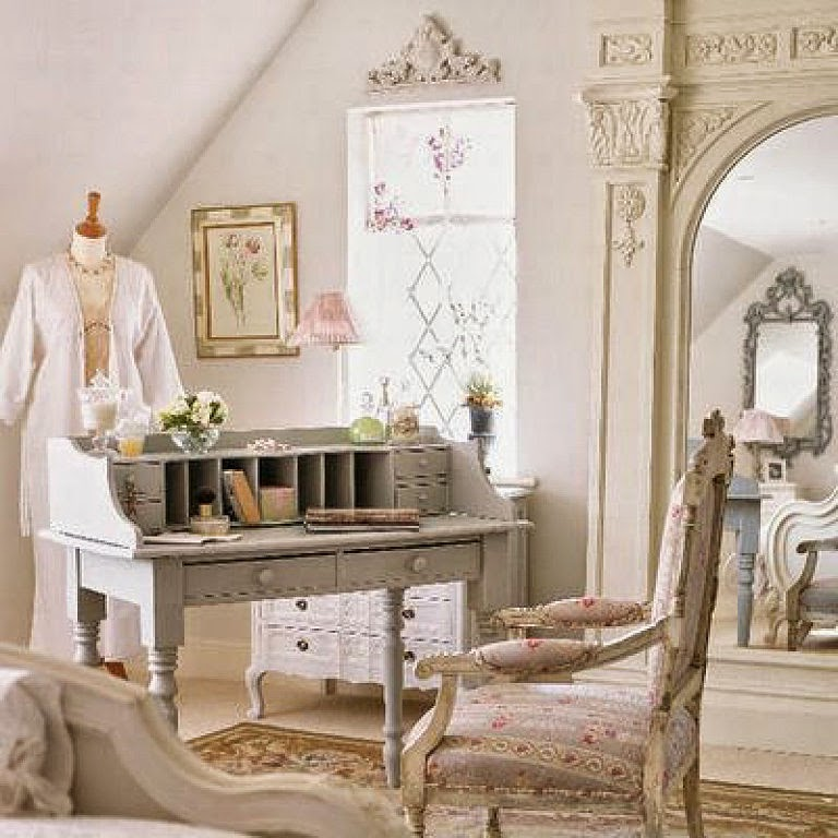 Icono interiorismo estilos de decoraci n shabby chic - Estilo shabby chic decoracion ...