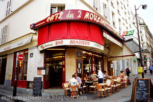 Les 2 moulins cafe Paris