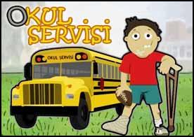 Okul Servisi Oyunu