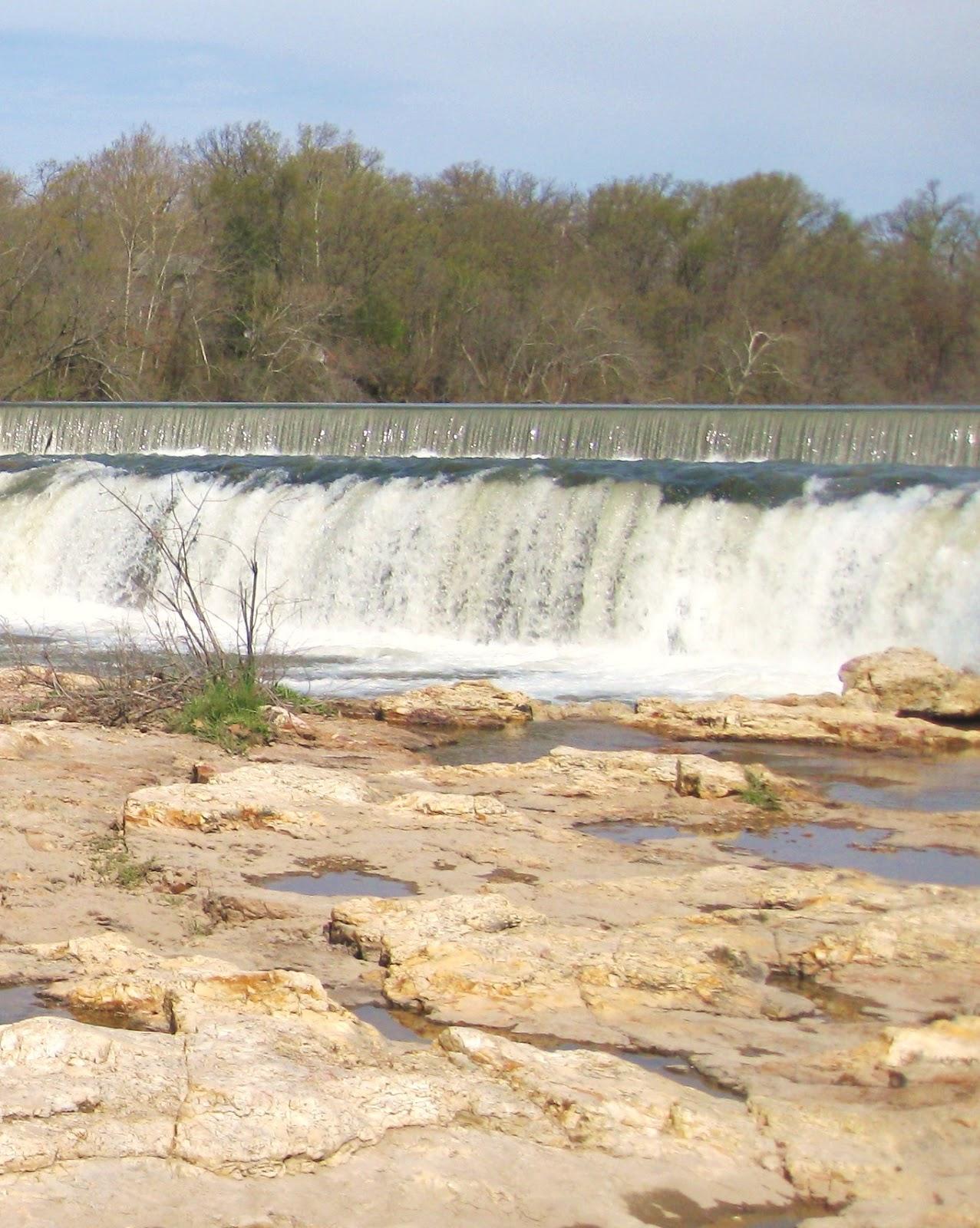 Grand Falls On Shoal Creek Hi From Us Newsletter