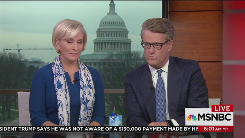 Morning Joe Scarbrough and old skank