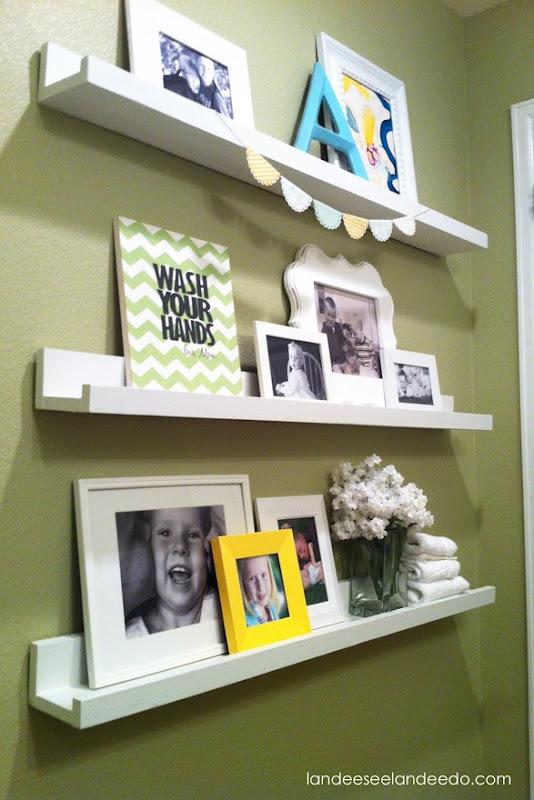 Bathroom Shelves and Ledges