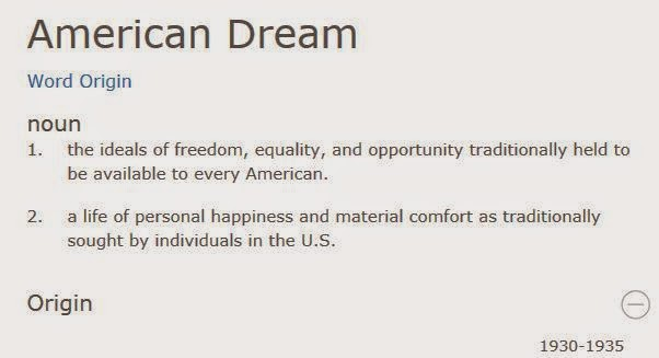 definitions of the american dream Buy the american dream: a short history of an idea that shaped a nation  in  which americans have defined the american dream over several centuries.