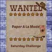 I'm on the DT for Paper A La Mode