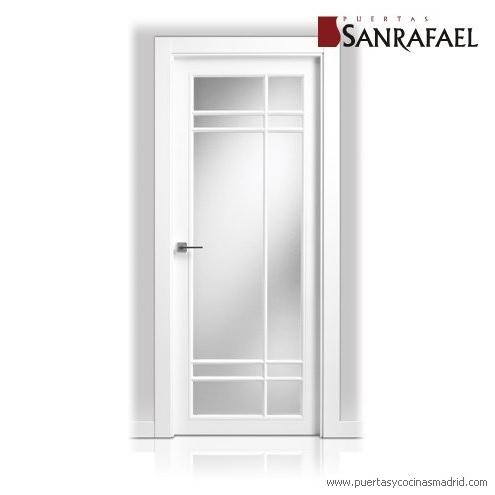 Ch decora puertas cocinas y armarios en madrid for Puertas cristal interior casa