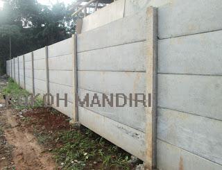 Pagar Panel Beton Berkualitas Harga terjangkau