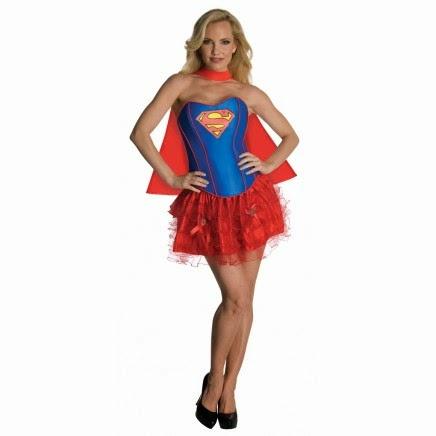Disfraz Supergirl corsé