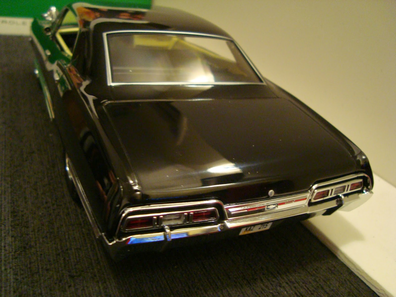 1967 chevy impala by ertl authentics a typical full sized muscle car