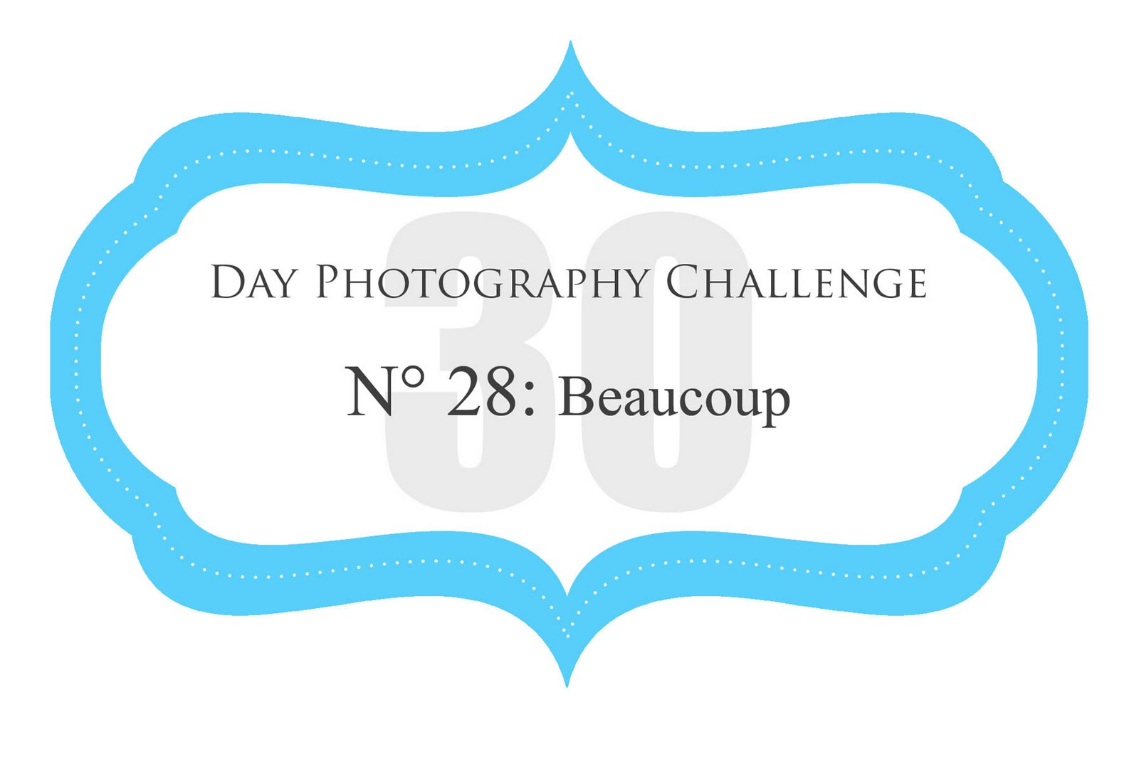 Day 28 - Photography Challenge