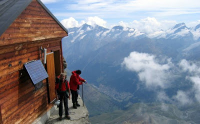 Incredible Mountain Hut in Switzerland Seen On www.coolpicturegallery.us