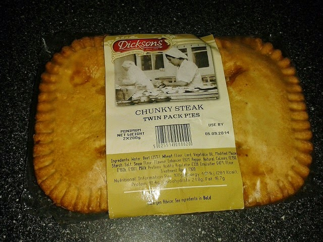 Dicksons Chunky Steak Pie Review