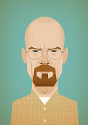 Bryan Cranston as Walter White. He's got lots of great prints all 20% off .