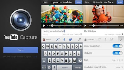Post videos on multiple channels with the newly updated YouTube Capture App for iOS