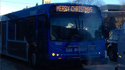 ATHEIST COMPLAINS TO HUMAN RIGHTS COMMISSION ABOUT 'MERRY CHRISTMAS' SIGN ON BUS