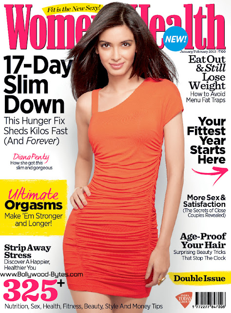 Diana Penty Cover  Women's Health February