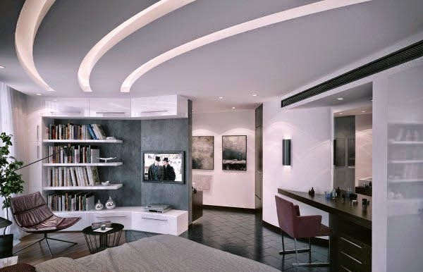 false ceiling for modern interior living room false ceiling for