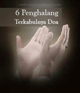 6 Penghalang Terkabulnya Doa
