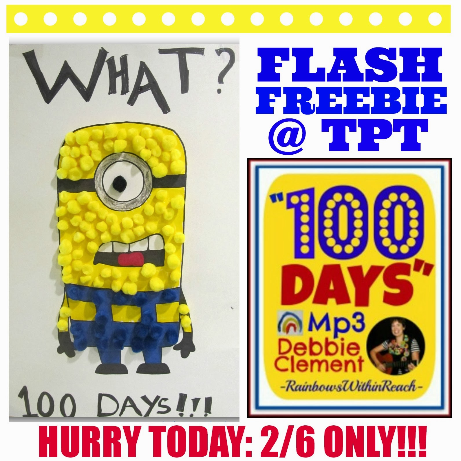 "Flash FREEBIE: ""100 Days"" Mp3 of Song by Debbie Clement"