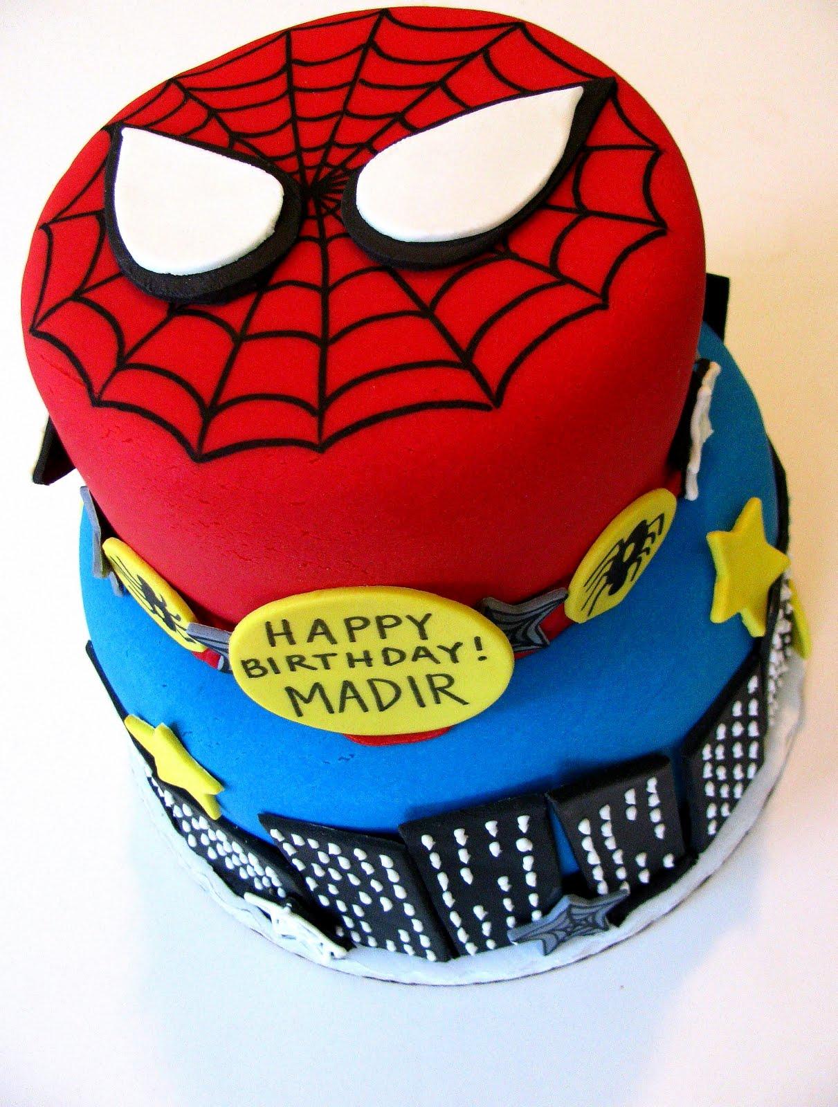 spiderman cake All about Sugar Art Pinterest