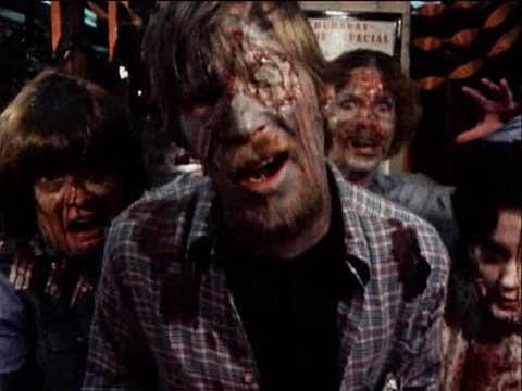 Volunteer zombies from 'The Dead Next Door'