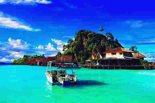 Gambar tempat wisata bahari di Pulau Misol raja Ampat