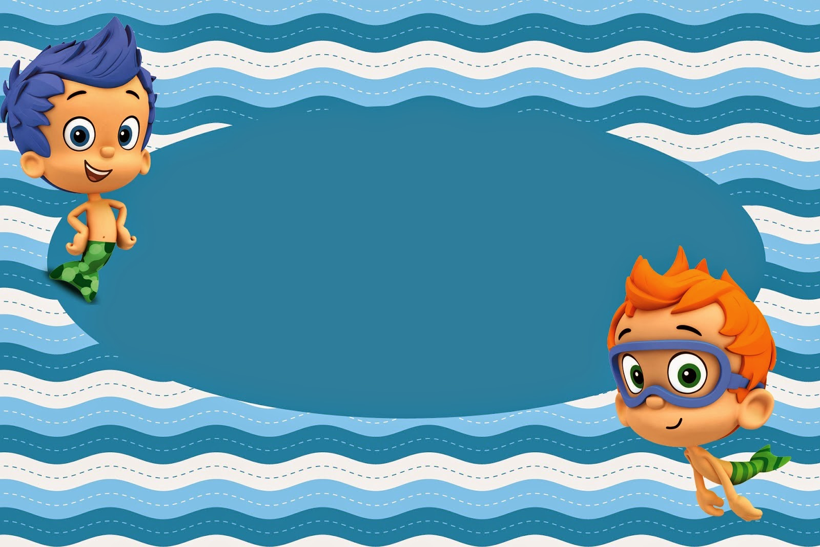 Bubble Guppies Party Invites is nice invitation example