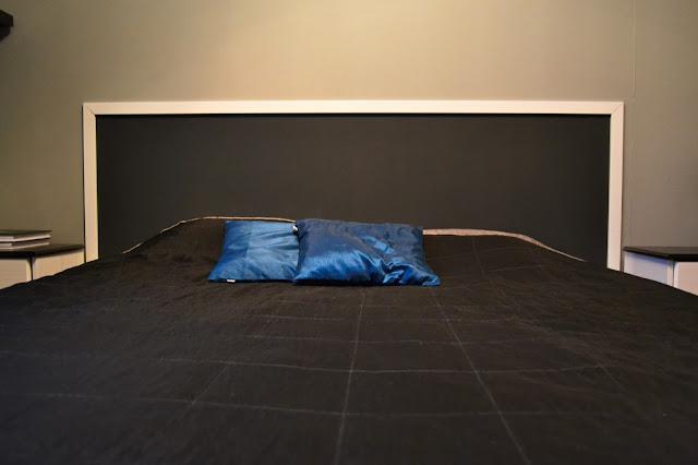 diy maalattu sängynpääty