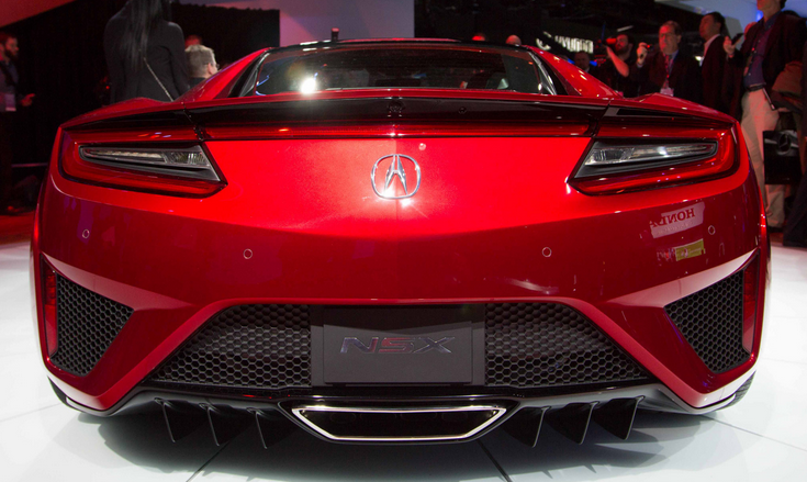 2016 ACURA NSX REDESIGN AND RELEASE DATE - 2016 RELEASE DATE 2017