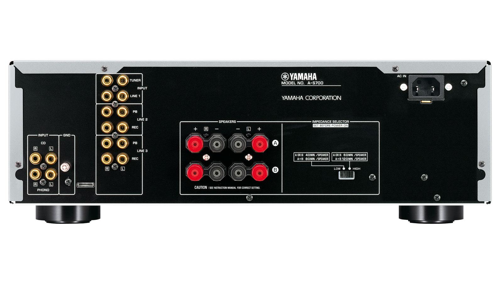 yamaha a s700 integrated amplifier audiobaza. Black Bedroom Furniture Sets. Home Design Ideas