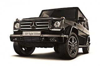 Mercedes G550 Night Edition