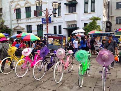 Exploring Kota, Jakarta's old town