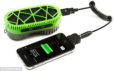 Teknologi Gunakan Air Untuk Mengecas Telefon Bimbit