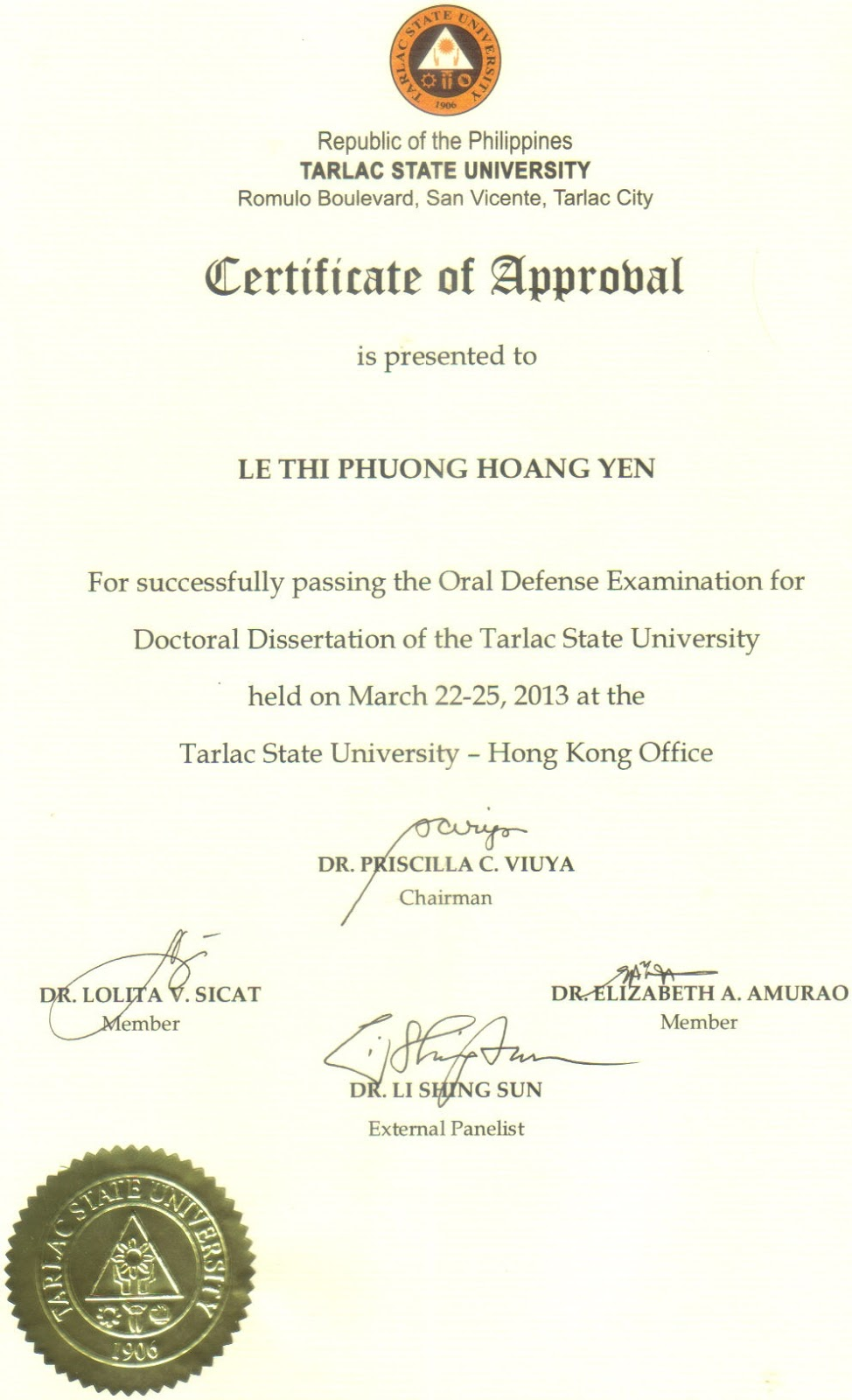 thesis grammarian certificate