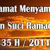 Jadual Berbuka Puasa Dan Imsak Untuk Tahun 1435H/2014