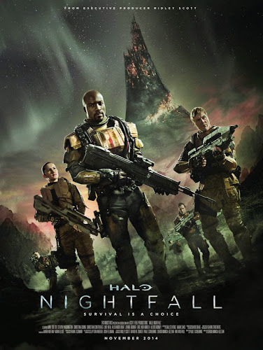 Halo Nightfall DVDRip Latino